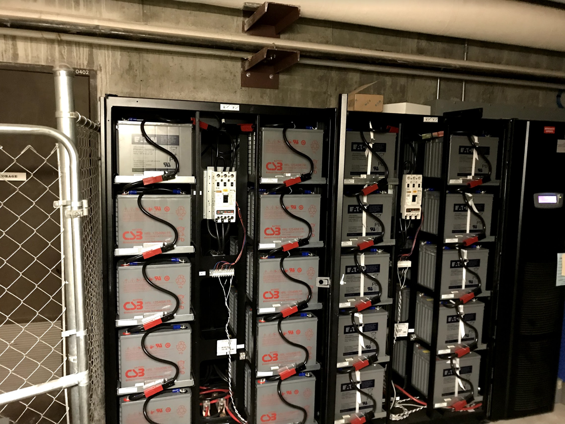 ups battery batteries critical system installation maintenance